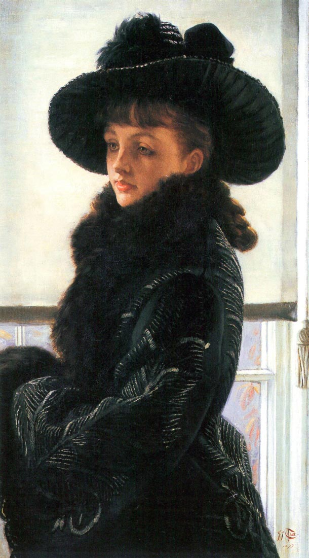 Portrait of Kathleen Newton - Tissot