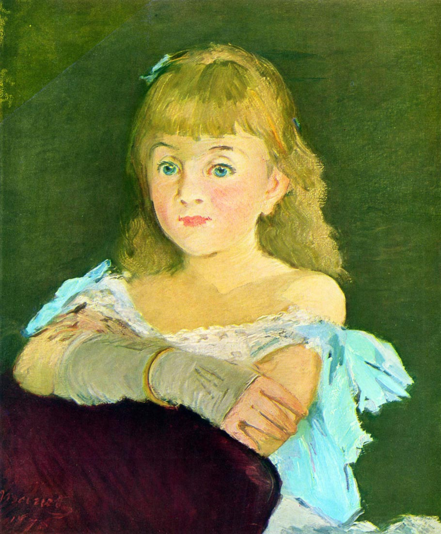 Portrait of Lina Campineanu - Manet