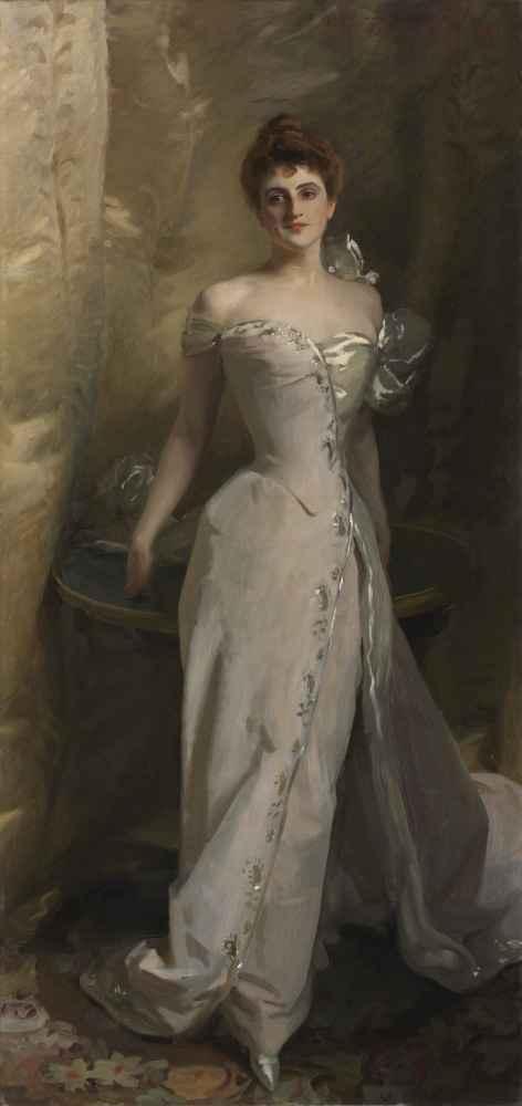 Portrait of Lisa Colt Curtis - John Singer Sargent