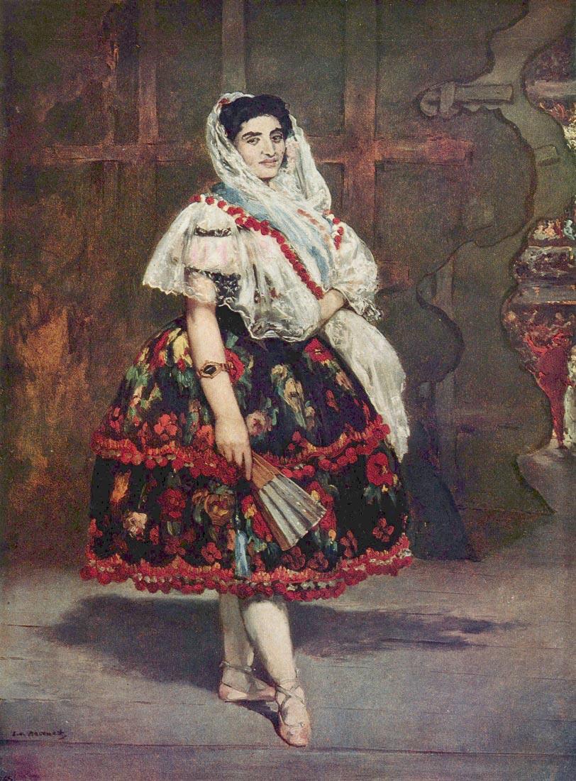 Portrait of Lola de Valence - Manet