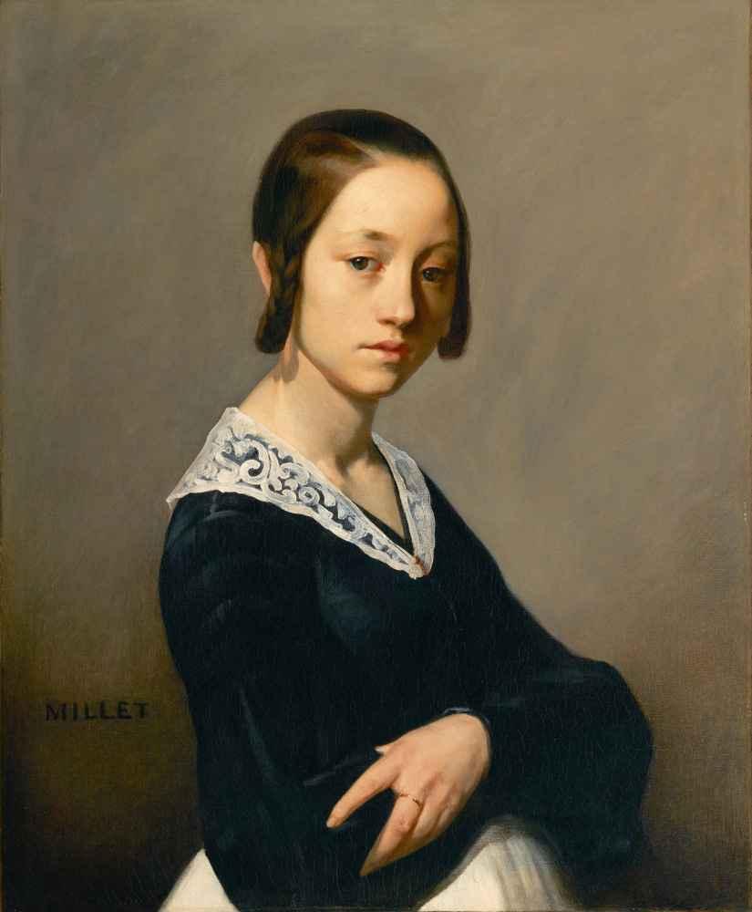 Portrait of Louise-Antoinette Feuardent - Jean Francois Millet
