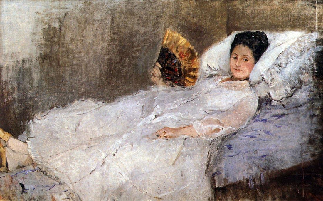 Portrait of Madame Hubard - Morisot
