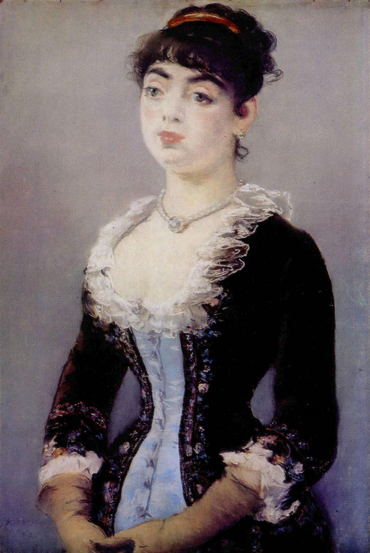 Portrait of Madame Michel-Lévy - Manet