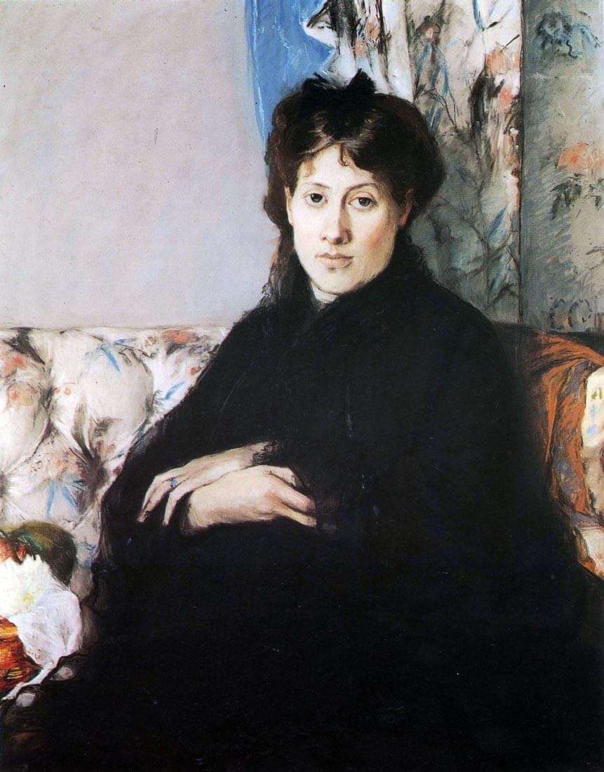 Portrait of Madame Pontillon - Morisot