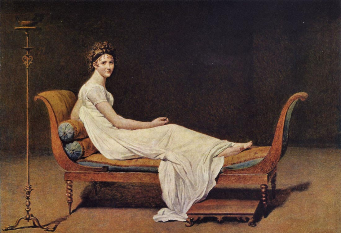 Portrait of Madame Récamier - Jacques Louis David