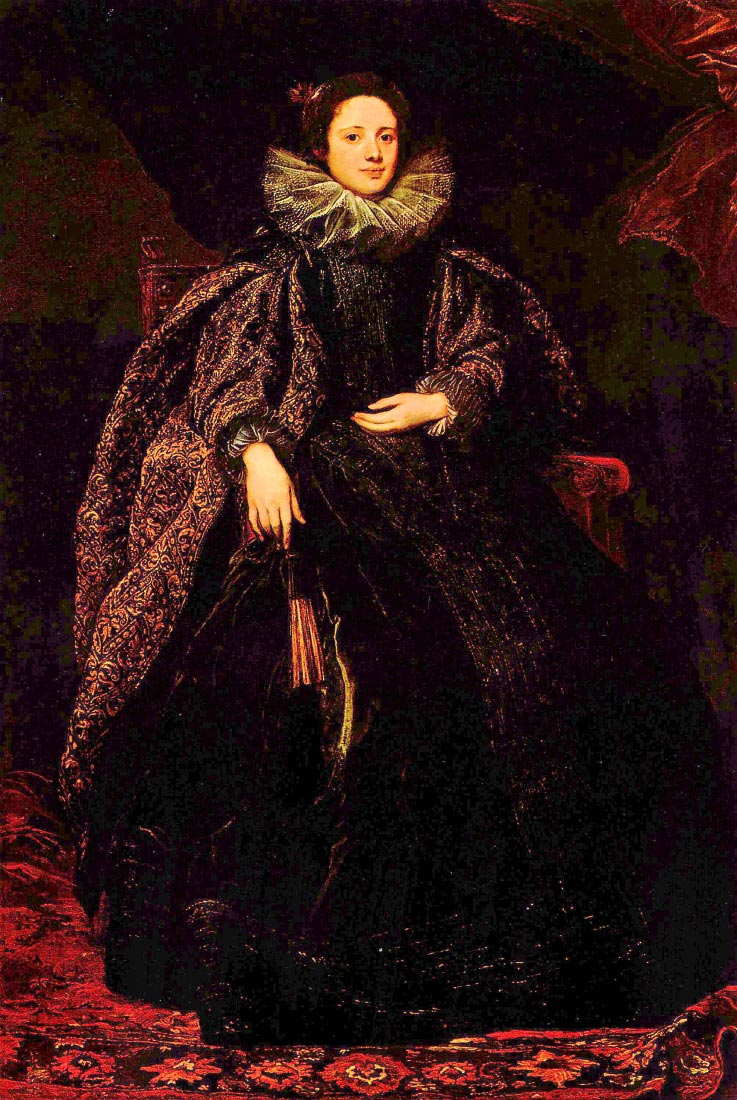Portrait of Marchesa Balbi - Van Dyck