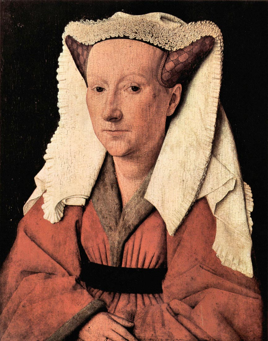 Portrait of Margaretha van Eyck - Jan Van Eyck