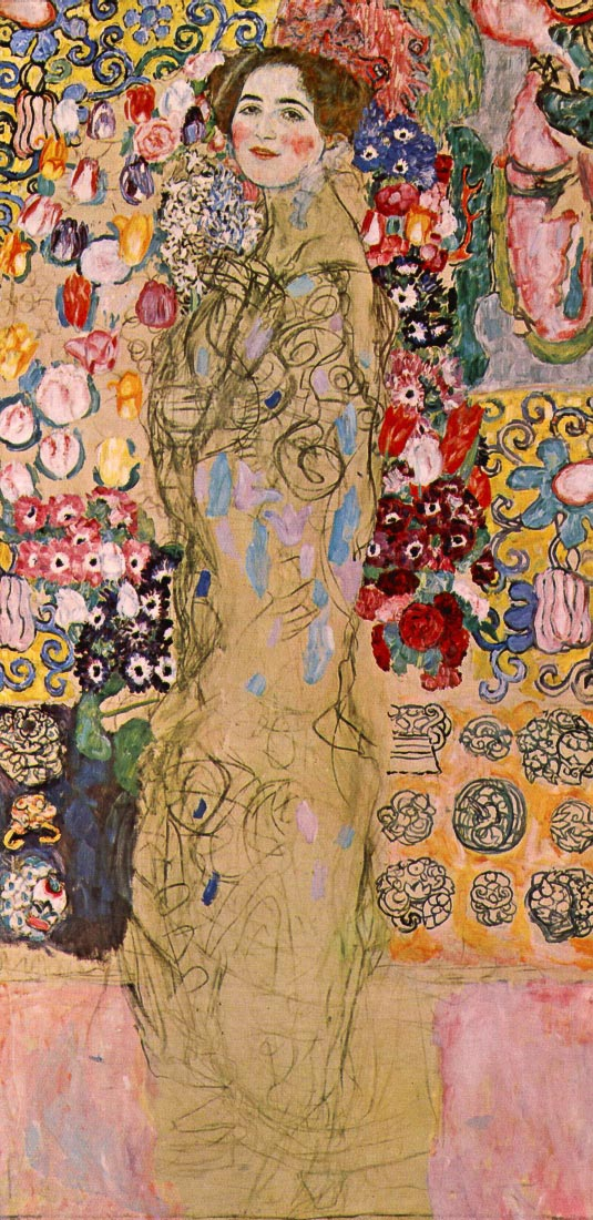 Portrait of Maria Munk - Klimt