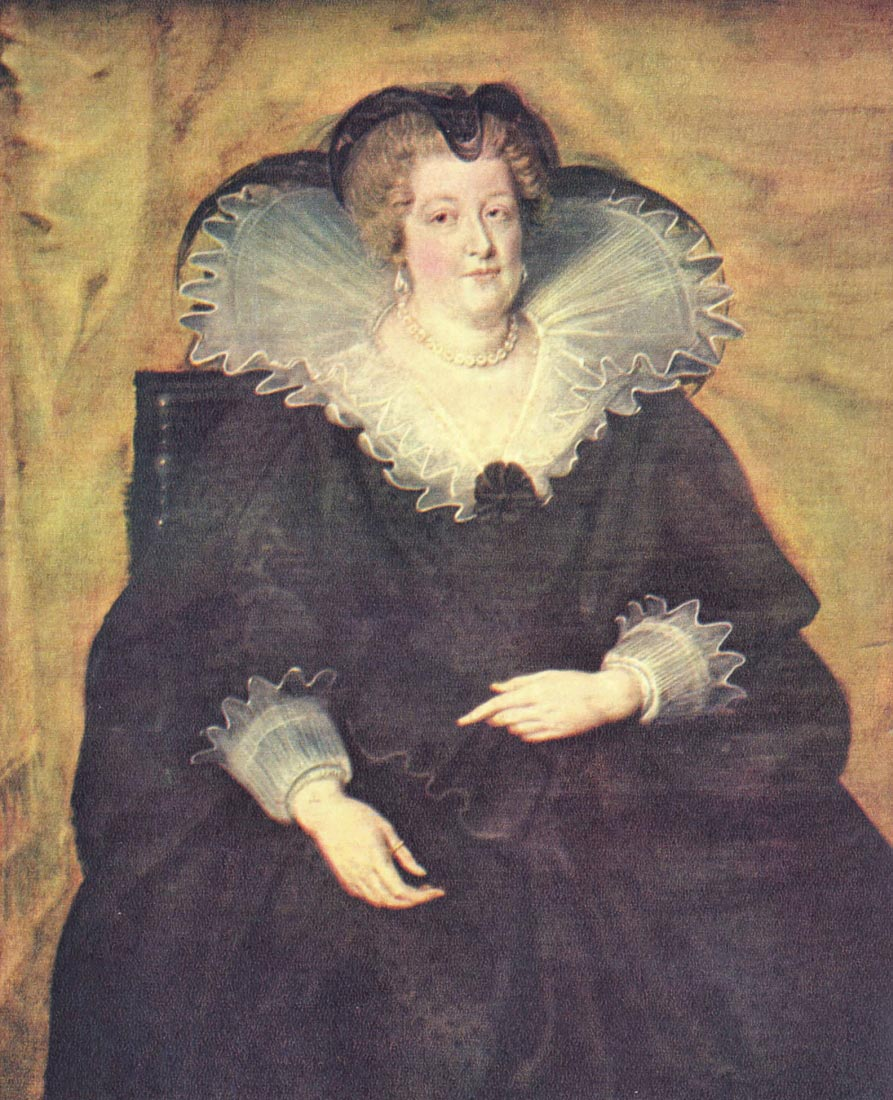 Portrait of Maria de Medici, Queen of France - Rubens