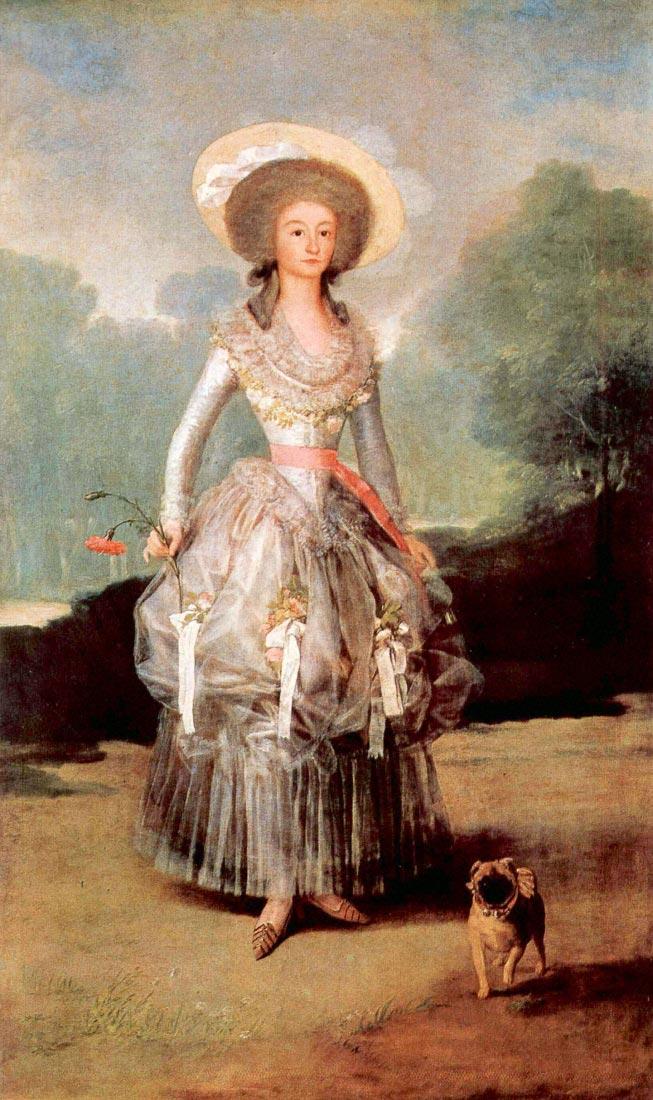 Portrait of Marquesa de Pontejos y Sandoval, Herzogin von Pontejos - G