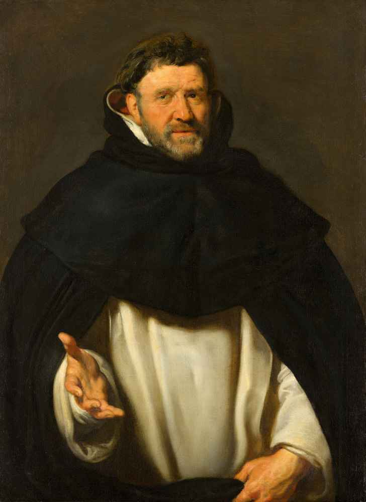 Portrait of Michael Ophovius - Peter Paul Rubens