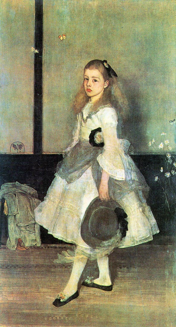 Portrait of Miss Alexander - James Abbot McNeill Whistler