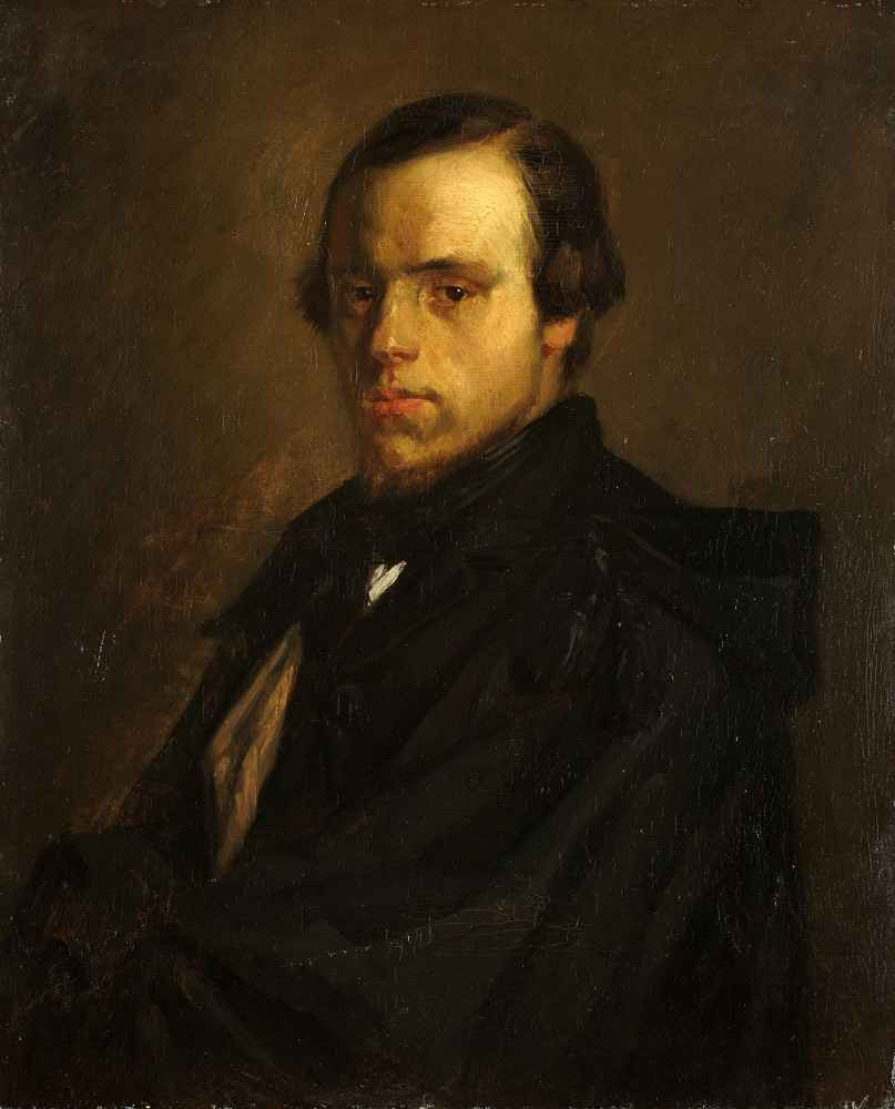 Portrait of Mister le Courtois, the Artist's Brother-in-Law - Jean Fra