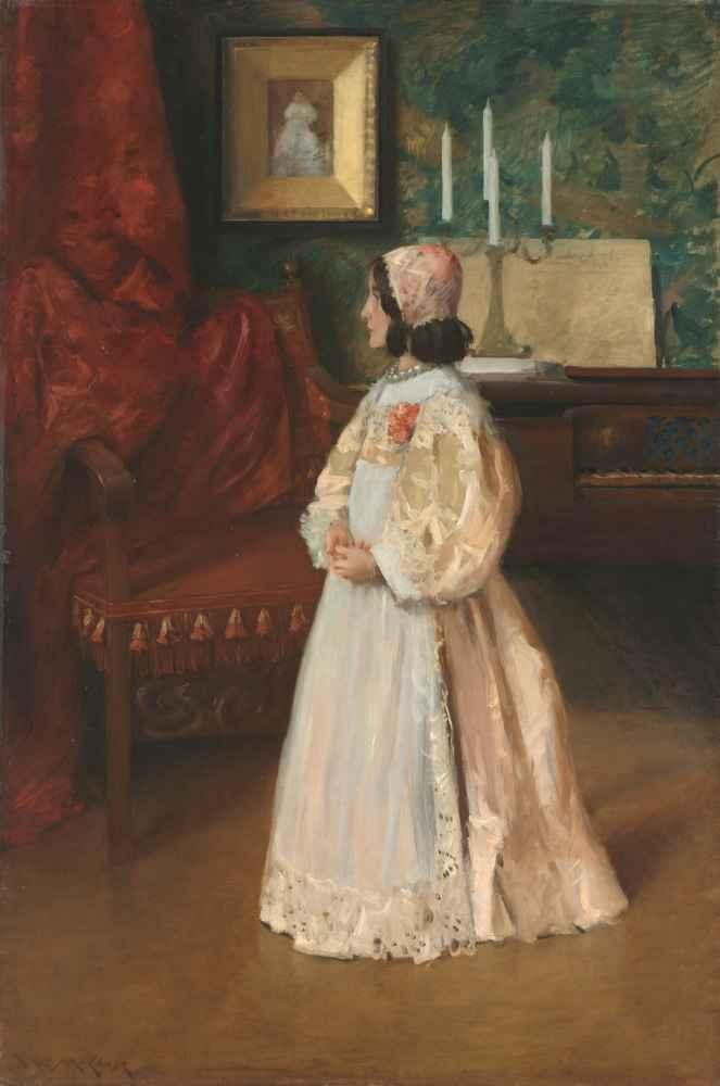 Portrait of My Daughter Alice - William Merritt Chase