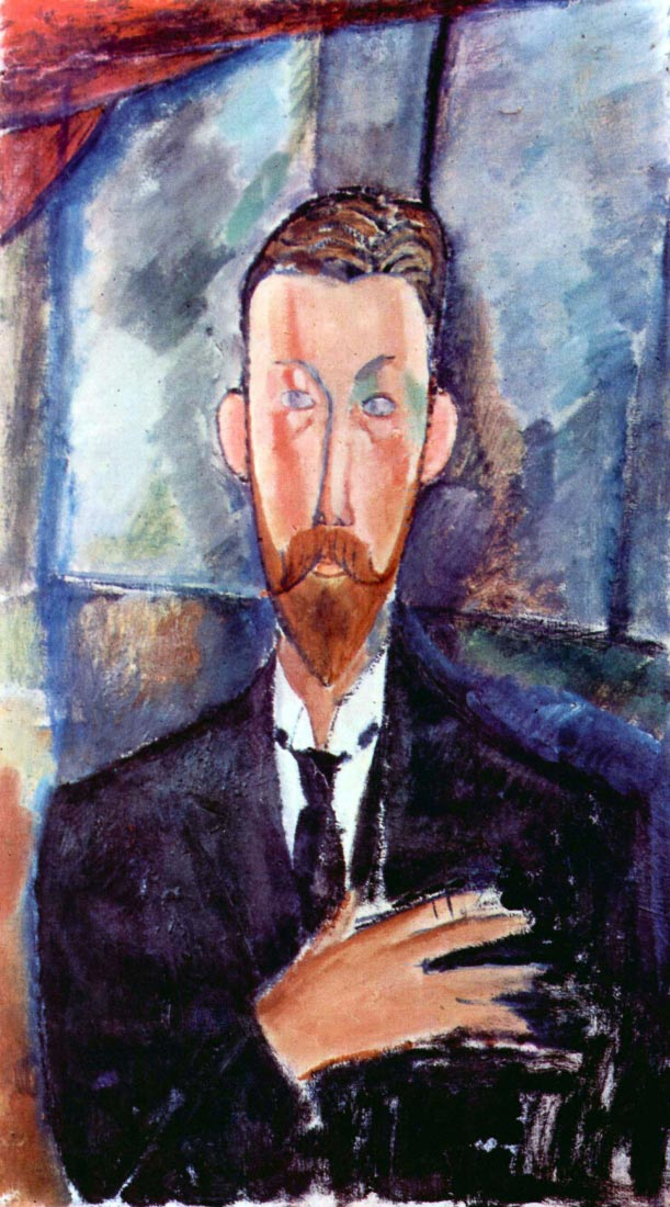 Portrait of Paul Alexanders - Modigliani