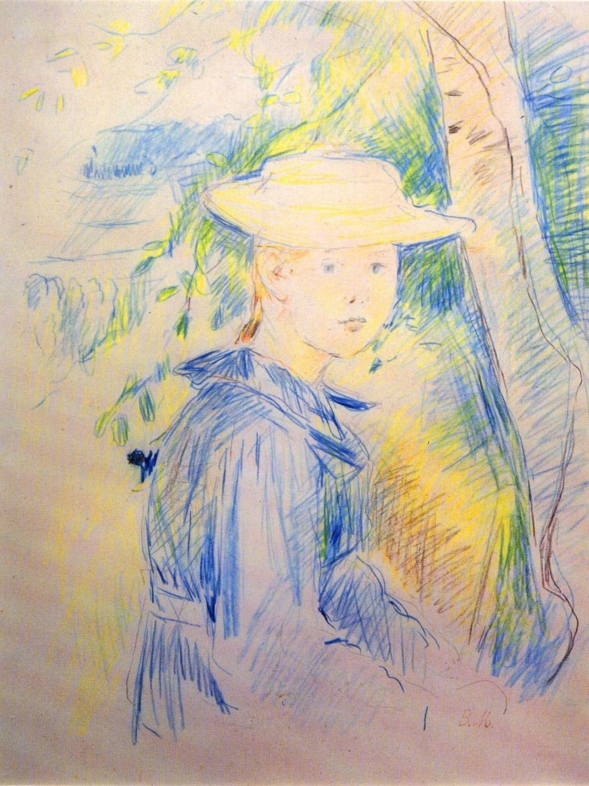 Portrait of Paule Gobillard - Morisot