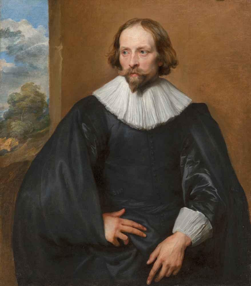 Portrait of Quintijn Symons - Antoon van Dyck