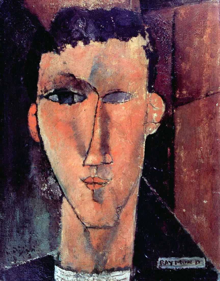 Portrait of Raymond - Modigliani