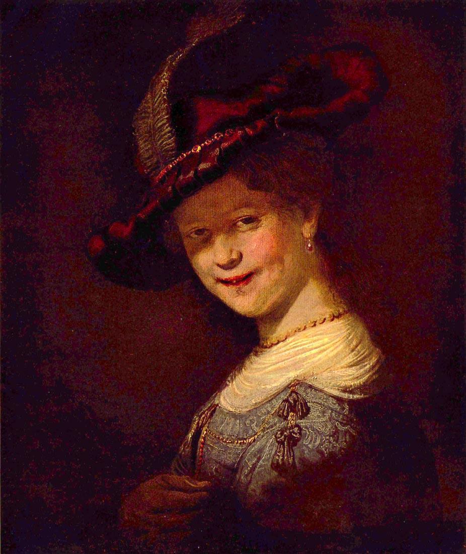 Portrait of Saskia van Uijlenburgh - Rembrandt