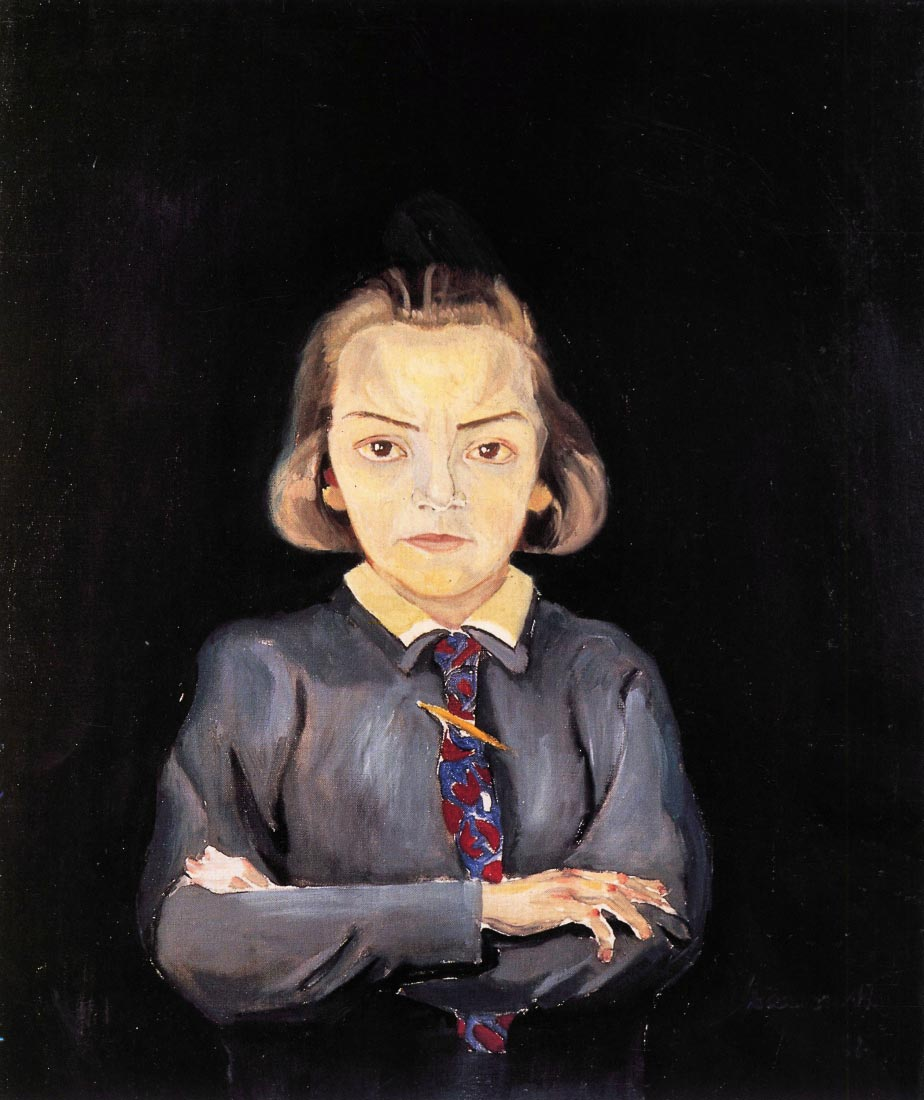 Portrait of Sonia Gramatte - Walter Gramatte