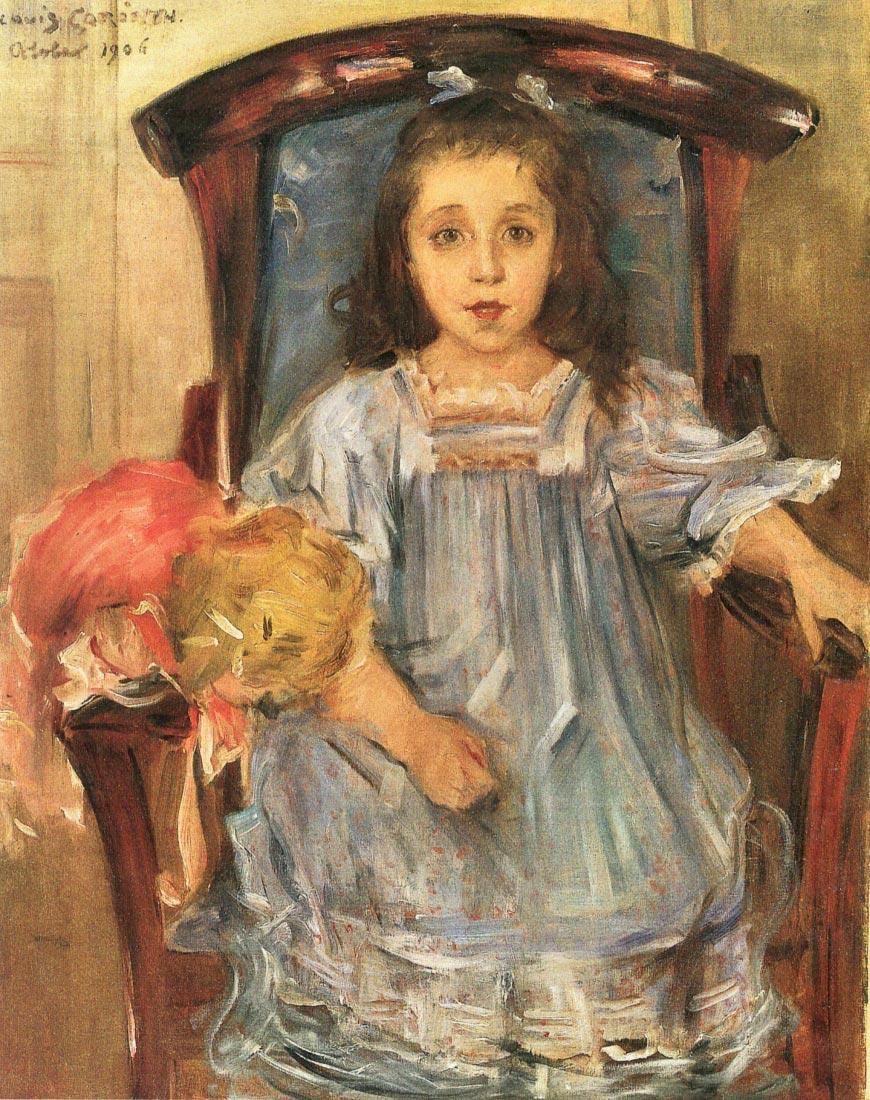 Portrait of Sophie Cassirer - Lovis Corinth