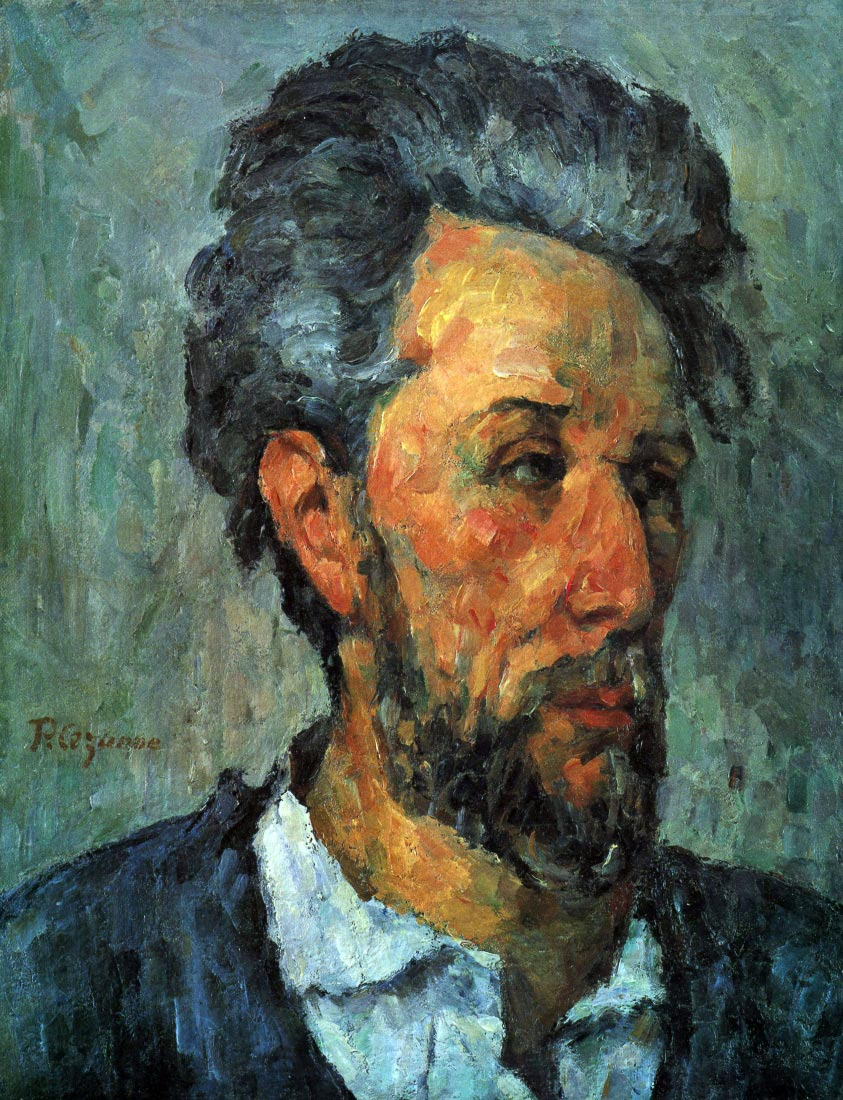 Portrait of Victor Chocquet - Cezanne