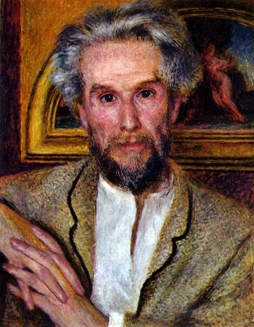 Portrait of Victor Chocquet - Renoir