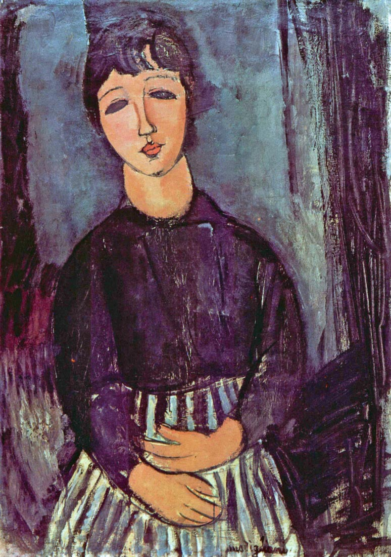 Portrait of Zofe - Modigliani