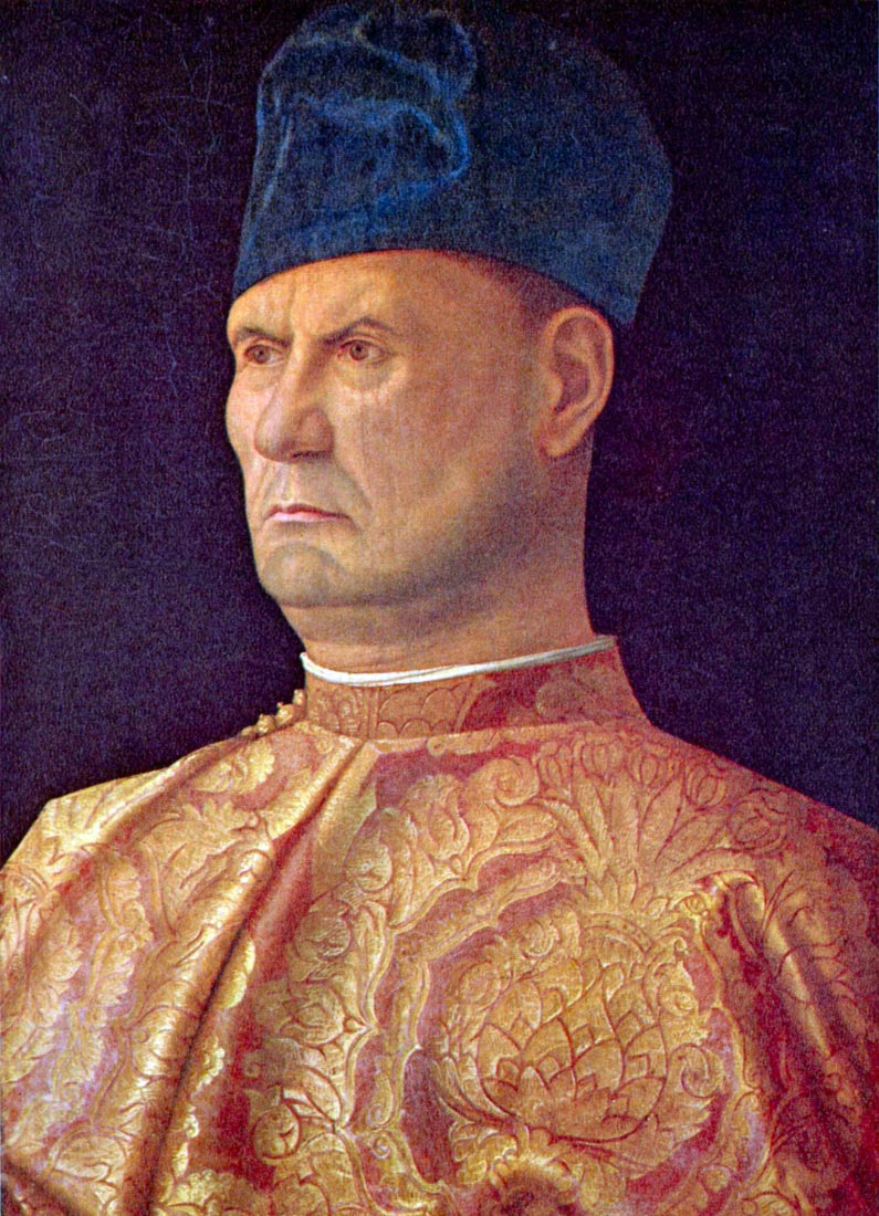 Portrait of a Condotti - Bellini