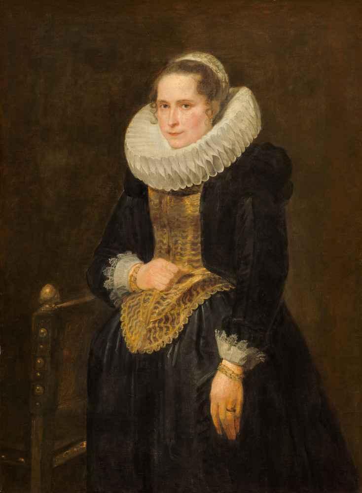 Portrait of a Flemish Lady - Antoon van Dyck