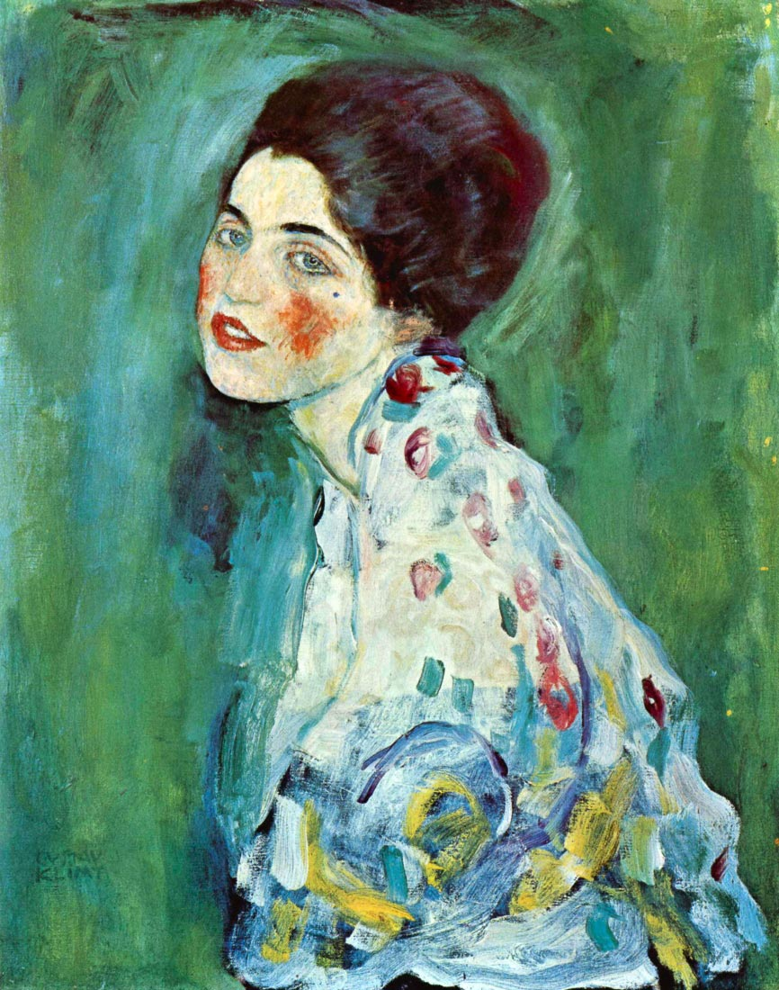 Portrait of a Lady - Klimt