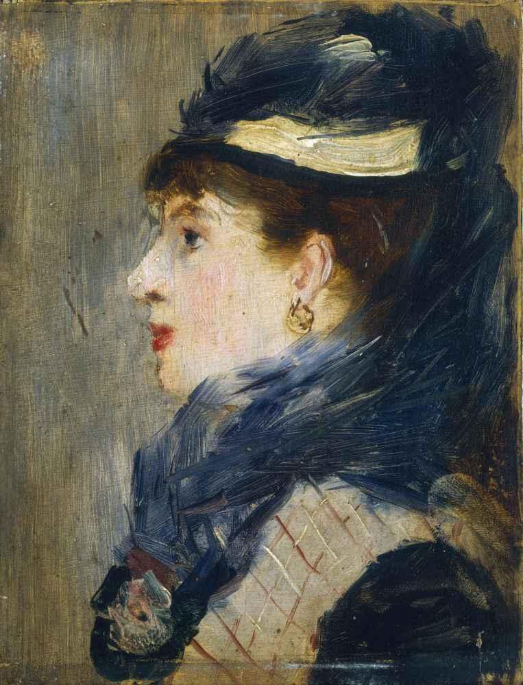 Portrait of a Lady - Edouard Manet