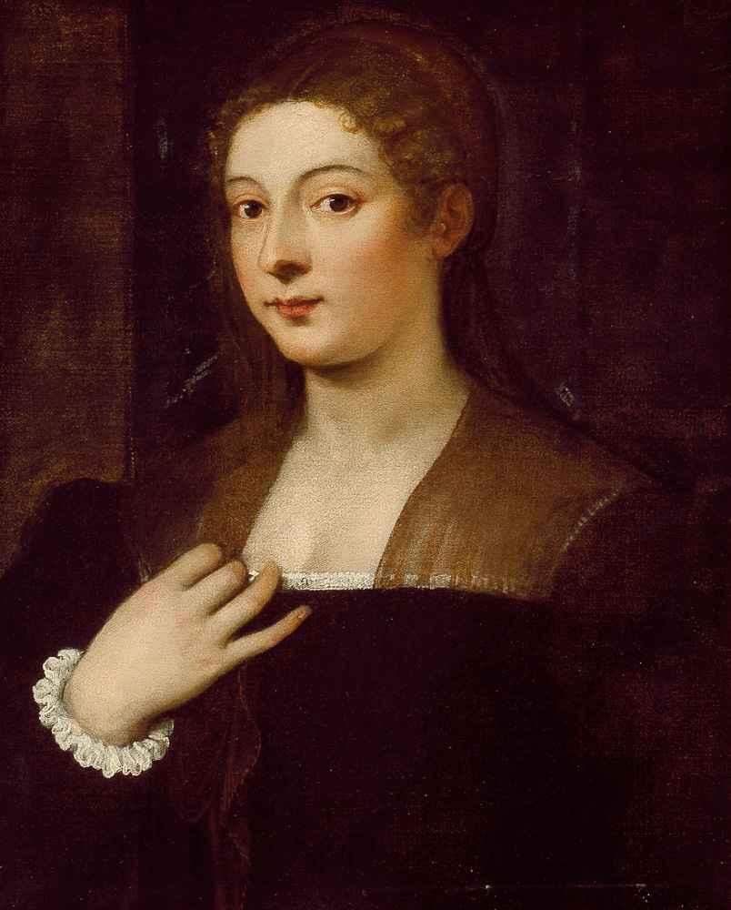 Portrait of a Lady - Tycjan
