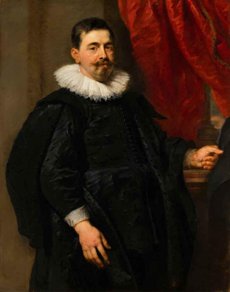 Portrait of a Man, possibly Peter van Hecke - Peter Paul Rubens