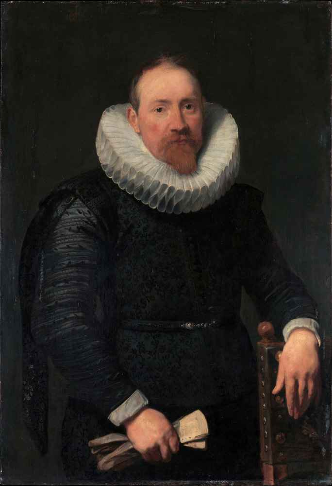 Portrait of a Man 2 - Antoon van Dyck