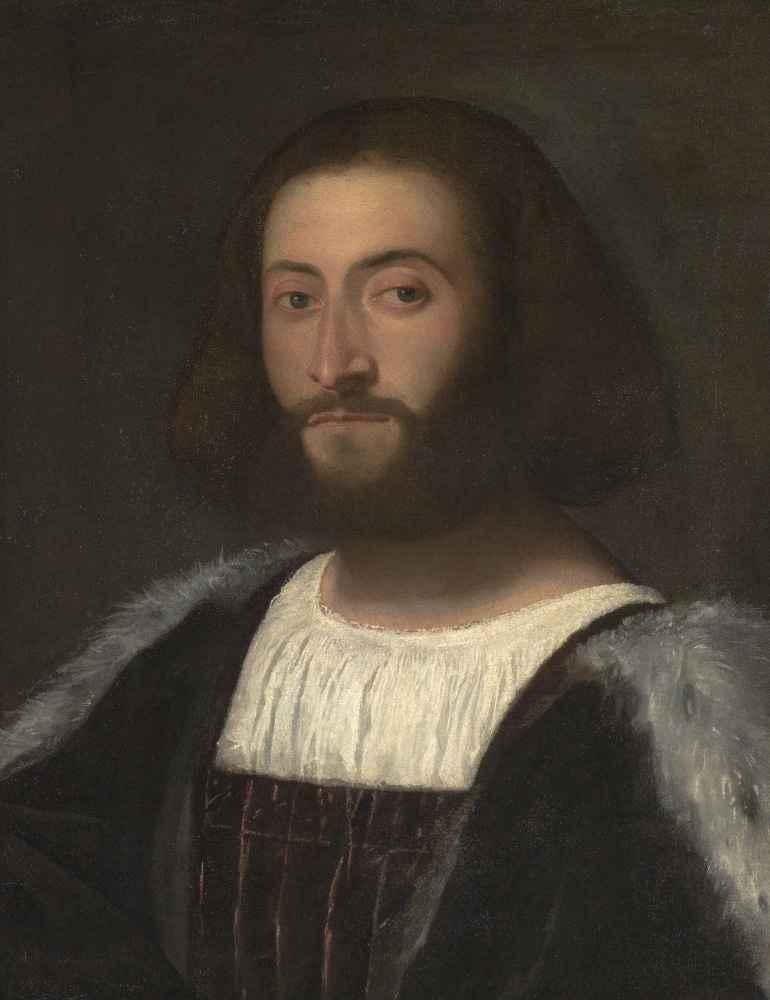 Portrait of a Man 3 - Tycjan