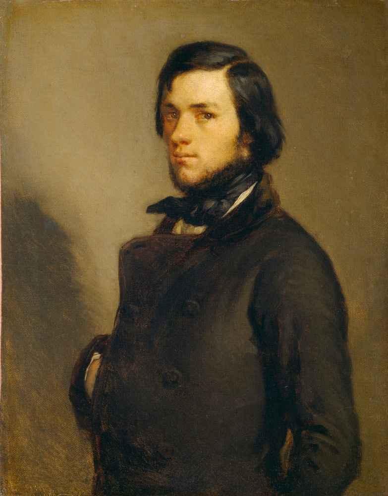 Portrait of a Man - Jean Francois Millet