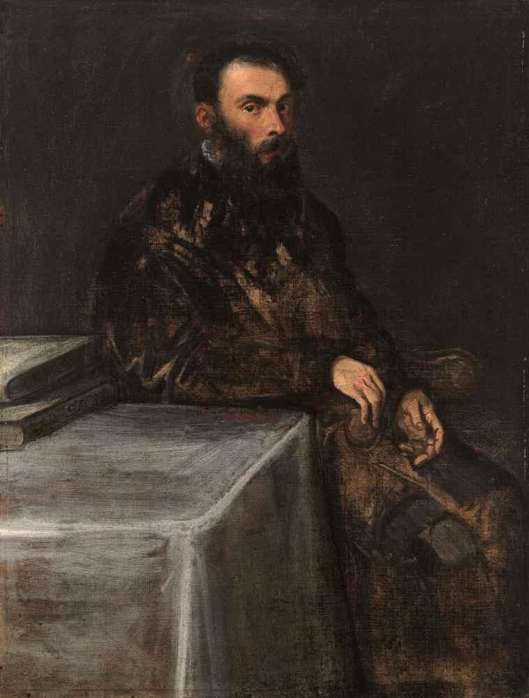 Portrait of a Man - Jacopo Tintoretto
