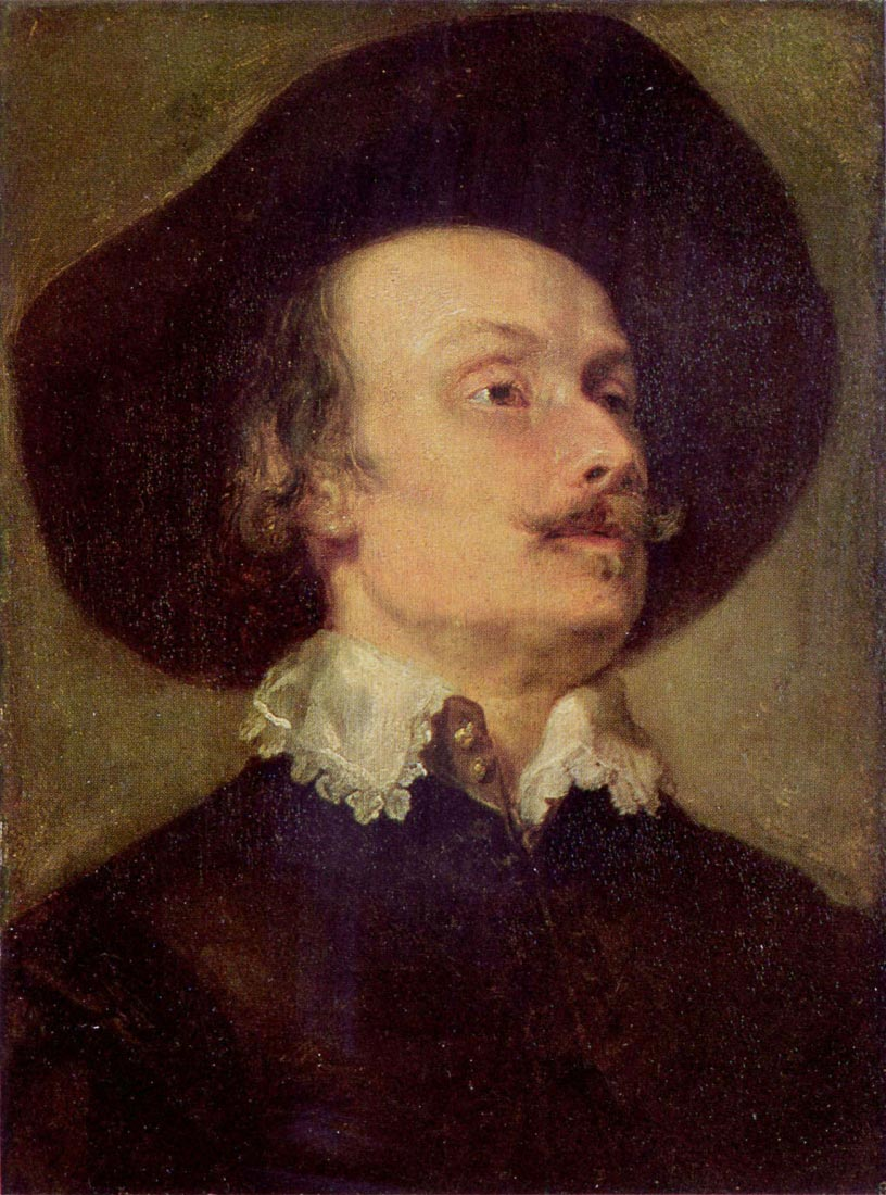 Portrait of a Man - Van Dyck