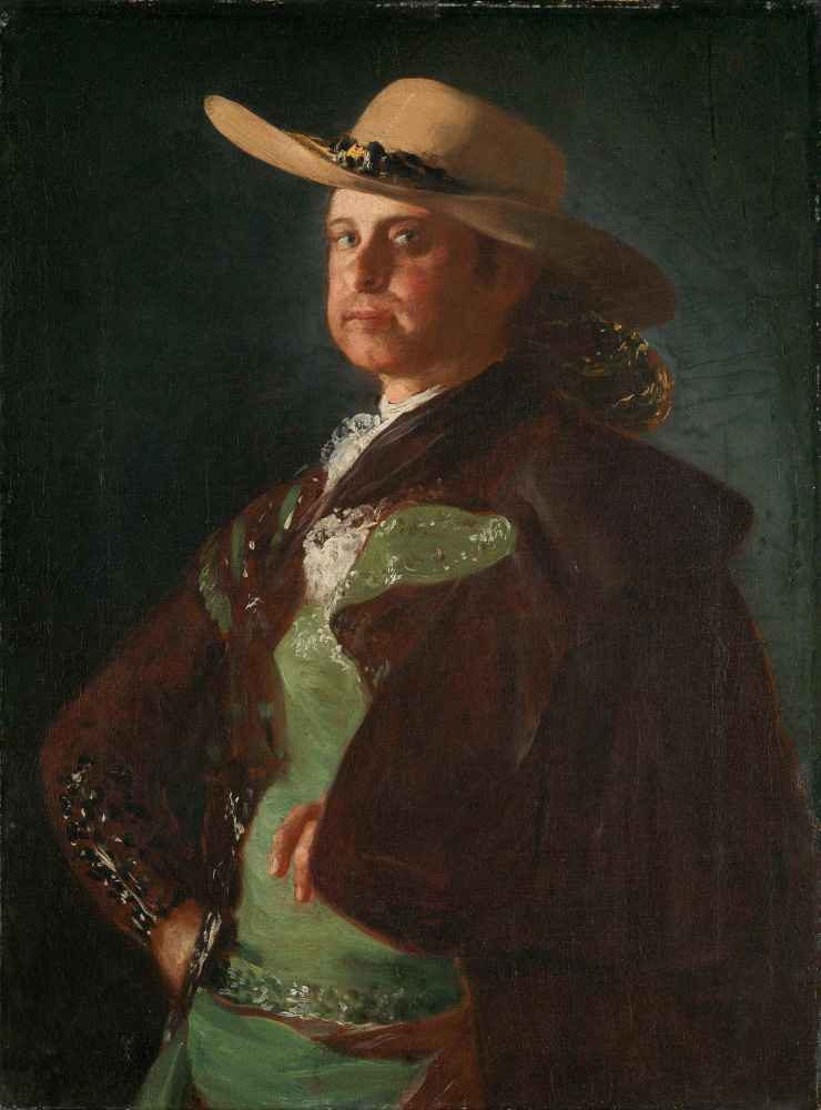 Portrait of a Picador - Francisco Goya