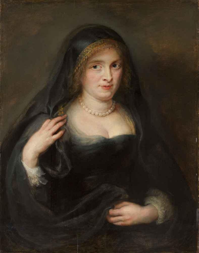 Portrait of a Woman, Probably Susanna Lunden (Susanna Fourment, 1599–1