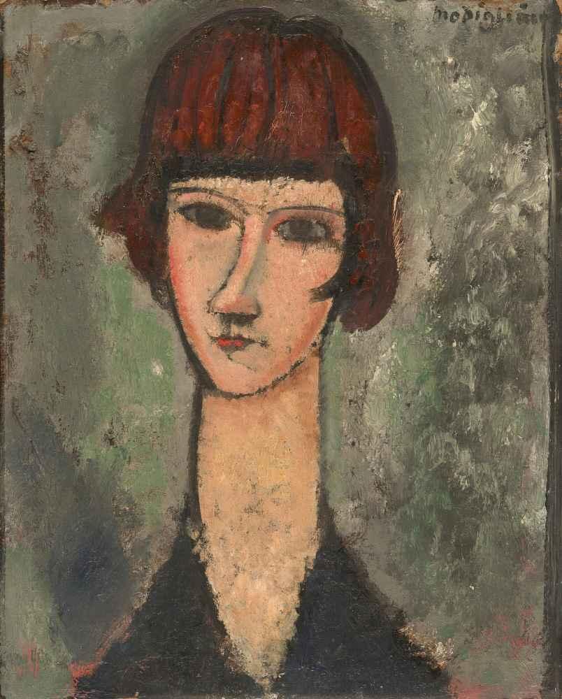Portrait of a Woman 2 - Amedeo Modigliani