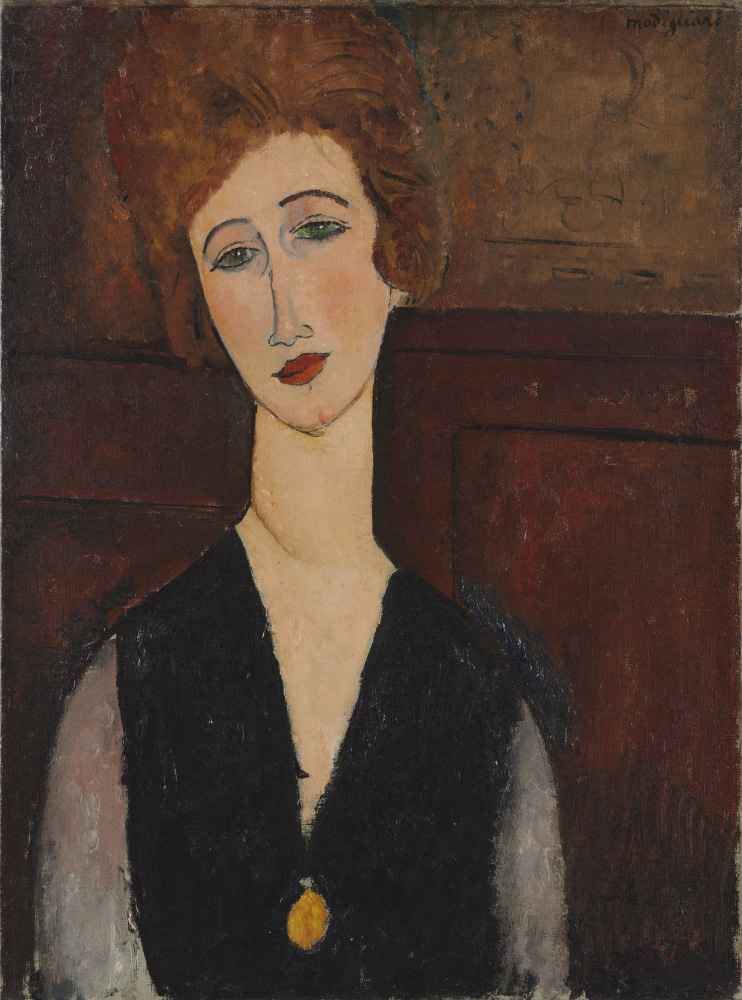 Portrait of a Woman - Amedeo Modigliani