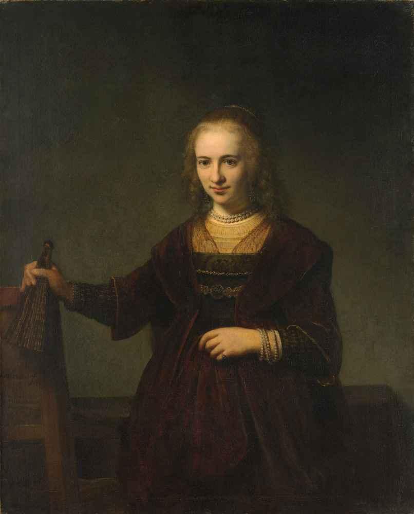 Portrait of a Woman - Rembrandt Harmenszoon van Rijn
