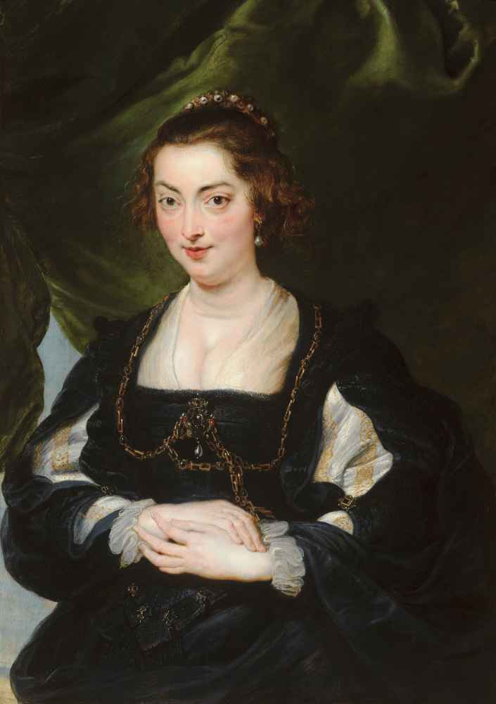 Portrait of a Young Woman 2 - Peter Paul Rubens