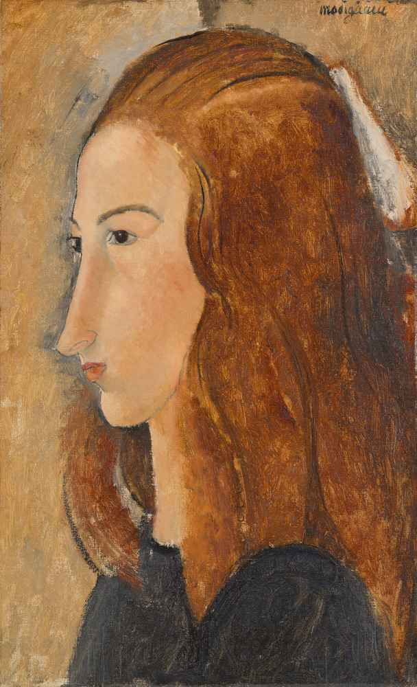 Portrait of a Young Woman - Amedeo Modigliani