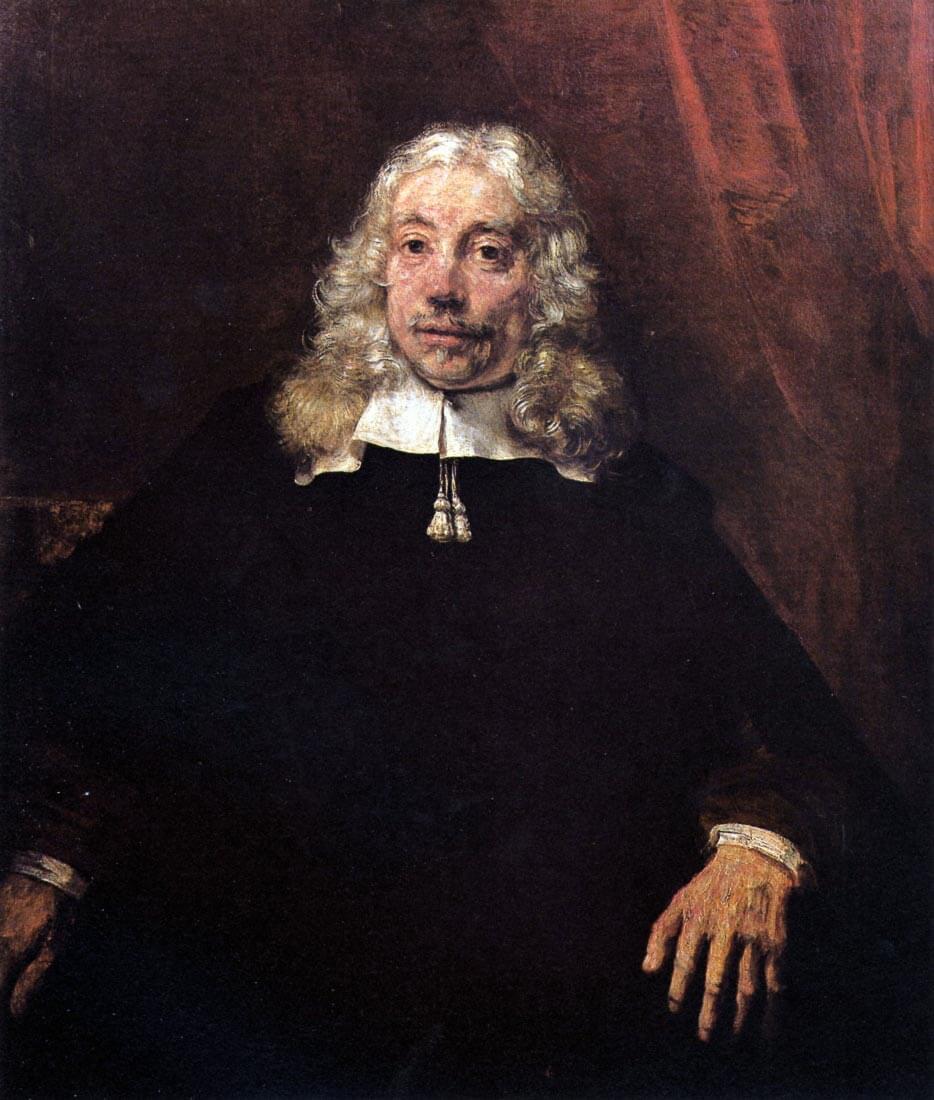 Portrait of a blonde man - Rembrandt