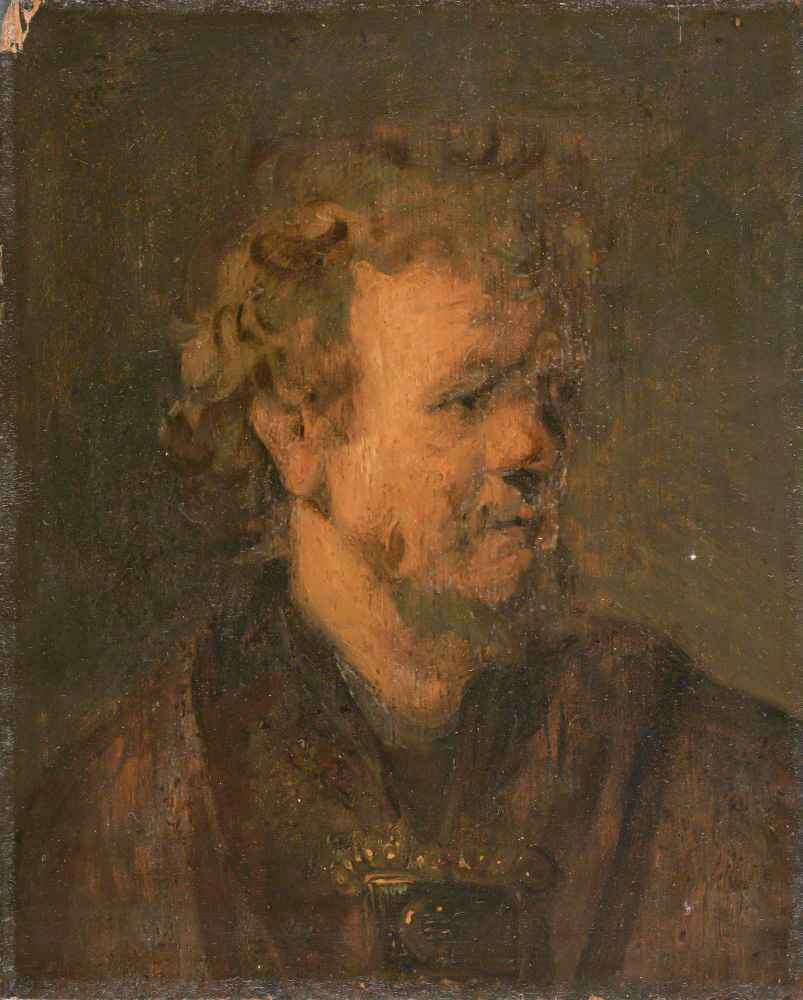 Portrait of a man - Tronie - Rembrandt Harmenszoon van Rijn