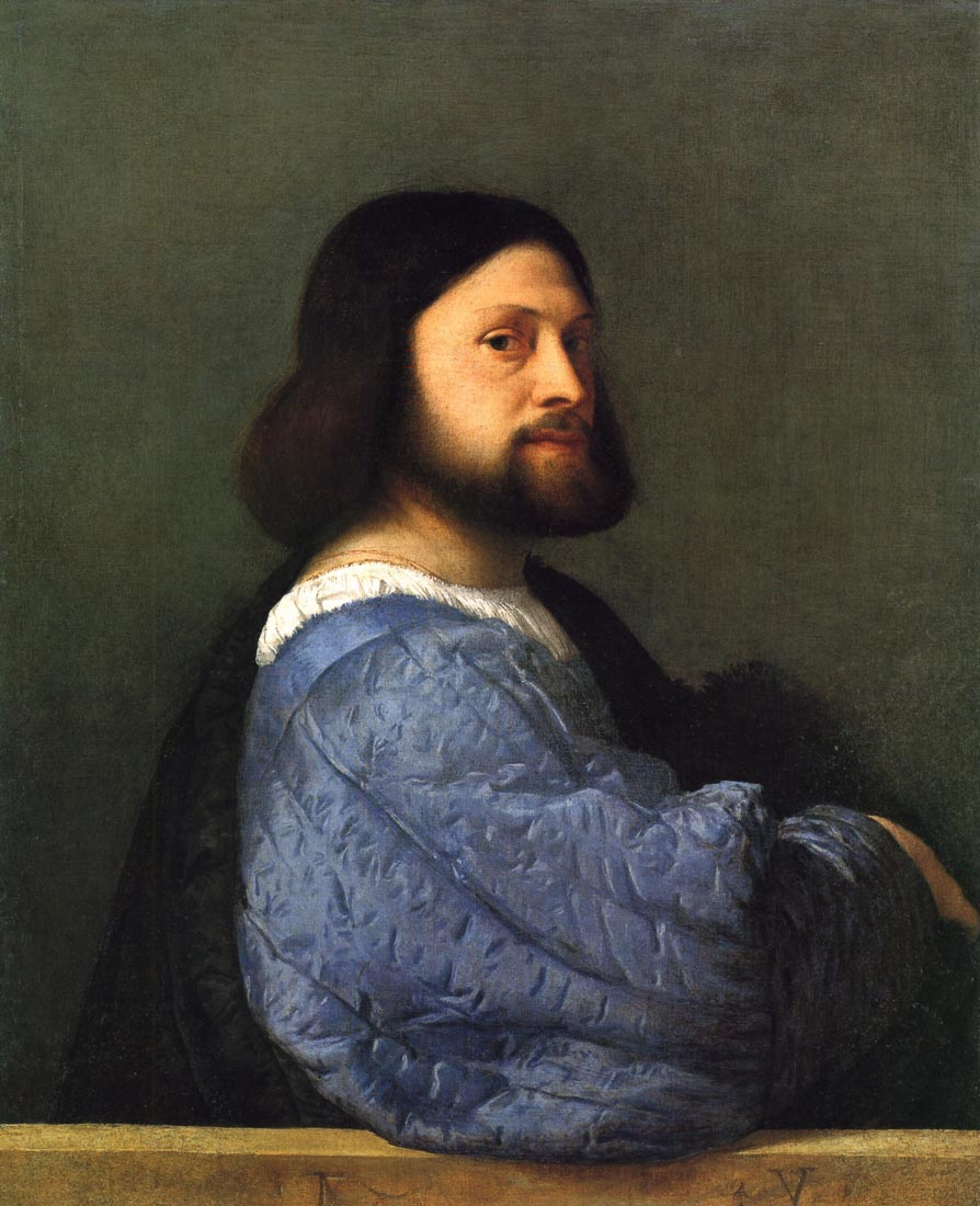 Portrait of a man - Titian
