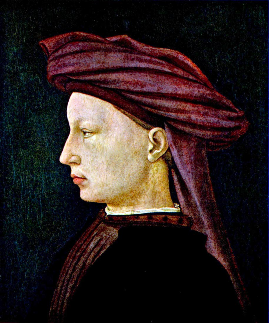 Portrait of a youth in profile - Masaccio